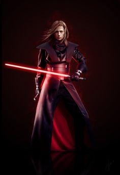 Darth Delator, The Dark Lord of the Sith by VampireDarlla