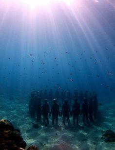 The Underwater Sculpture Park, Grenada