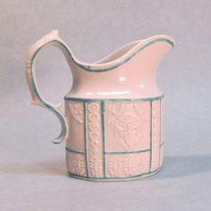 Patriotic Motif Felspathic Stoneware Creamer circa 1810 - Patriotic Motif Felspathic Stoneware Creamer circa 1810