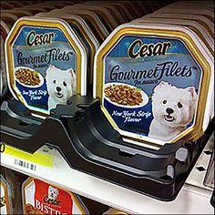Premium Dog Food, Shelf Dividers, Plastic Trays, Dog Food Recipes, Lunch Box, Retail, Gourmet, Dog Recipes, Bento Box