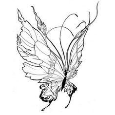 Tatouage papillon ailes grandes