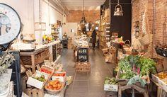 tienda ecológica I LOVE FOOD Muntaner 476, Barcelona www.ilovefood.es