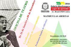 OFICINA DE TEATRO- GALERIA MONHANGARA-