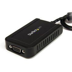 StarTech USB to VGA External Video Card Multi Monitor Adapter - 1920x1200 - USB to VGA External Graphics Card by StarTech, http://www.amazon.com/dp/B005G306I2/ref=cm_sw_r_pi_dp_uh7rsb1JJXNXJ