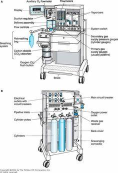 Anesthesia machine check