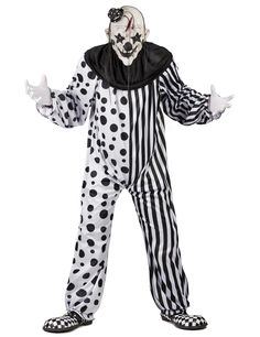 I like the clothes? Clown Halloween Kostüm, Halloween Look, Halloween Makeup Looks, Halloween Outfits, Happy Halloween, Horror Clown Kostüm, Clown Maske, Send In The Clowns, Favorite Holiday