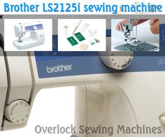 Brother 1034D 3 or 4 Thread Serger with Easy Lay In Threading with ...