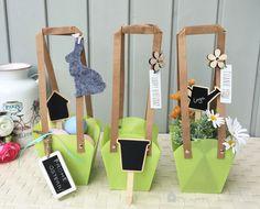Blumen-Geschenke+Tasche,+3+St.+von+Crafts+&+Deco+auf+DaWanda.com