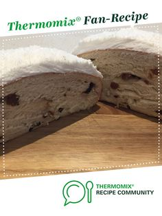 Recipe Boston Bun by Naomigiblin, learn to make this recipe easily in your kitchen machine and discover other Thermomix recipes in Baking - sweet. Lunch Box Recipes, Dessert Recipes, Desserts, Thermomix Bread, Bread Recipes, Cooking Recipes, Cupcake Flavors, Bun Recipe, Recipe Community