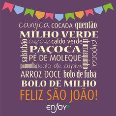 São João! festa junina junho