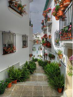 Village of Algarrobo in the beautiful region la #Axarquia, #Andalucía, #Spain.