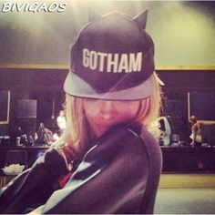 9dcd470219e Womens Euramerican GOTHAM Devil Horns Baseball Cap Hip Hop Caps Female Black  Bone Snapback Hats Hiphop For Men Women Chapeu Toca.