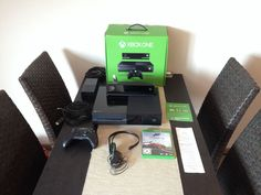 Selling the good old Xbox One (Germany) Microsoft Xbox One 500 GB Spielkonsole mit Kinect + Fifa 14 + Forza 5 mit OVP