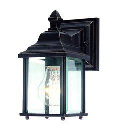 Dolan Designs Charleston 1 Light Exterior Wall Lantern in Antique Bronze 930-20