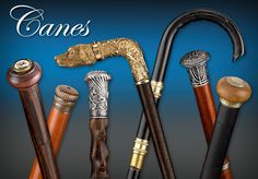 There's one for everybody!   Antique Canes - M.S. Rau Antiques in New Orleans... a HUGE collection