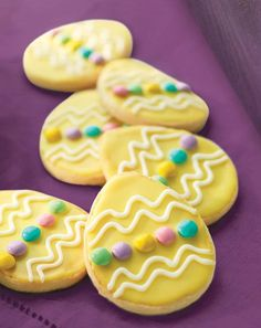 We want to make EASTER COOKIES like these from PANERA