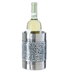 Oggi Diamond Double Wall Wine Cooler SilverBlack -- Be sure to check out this awesome product.
