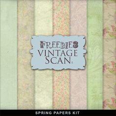 Nuevo Kit Freebies Primavera Papers