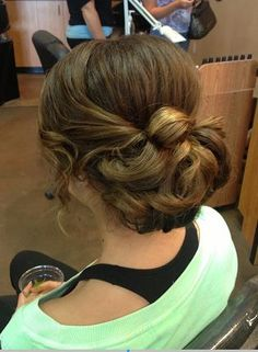 Romantic Updo - Hairstyles and Beauty Tips