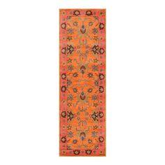ACHICA | nuLOOM Montesque 75x305cm Runner, Orange
