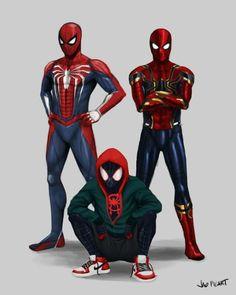 Variations of Spiderman Costume Marvel Comics, Marvel Heroes, Marvel Avengers, Spiderman Art, Amazing Spiderman, Spiderman Classic, Spiderman Costume, Ken Kaneki Tokyo Ghoul, Wallpaper Animes