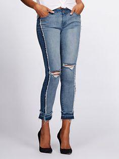 d51517884a Destroyed Boyfriend Jeans - Gabrielle Union Collection