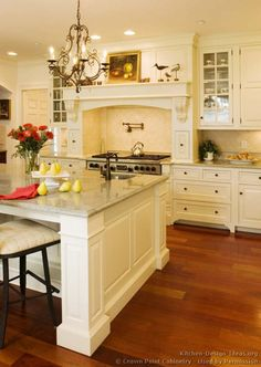 Victorian Kitchen Cabinets #28 (Crown-Point.com, Kitchen-Design-Ideas.org)