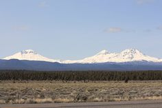 3 Sisters Mountains, Oregon, Where we are going for our annual girls motorcycle ride.