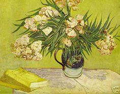 oleanders vase by van gogh