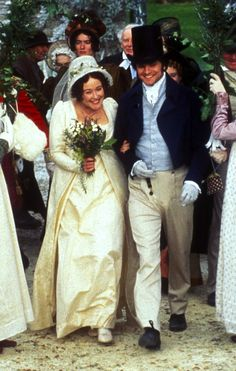 Pride and Prejudice 1995 // You're gonna marry someone who's thrilled to marry you.