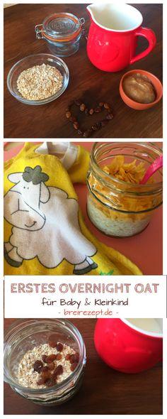 Overnight Oat Kinderrezept & Babybrei