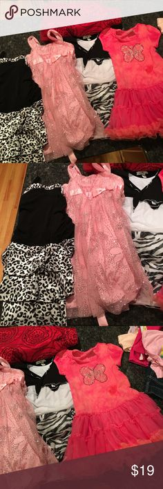 Four girls pretty dresses size 6x and a skirt For pretty girls dresses size 6X and a skirt Amy Byer Dresses Casual