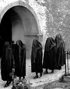 Catholic funeral, Sara, Basque Country circa 1950-