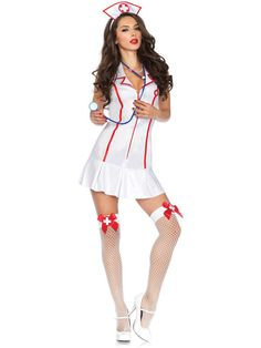 Head Nurse Adult Costume