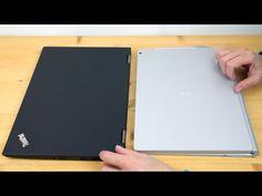 Lenovo ThinkPad X1 Yoga vs  Microsoft Surface Book Comparison Smackdown