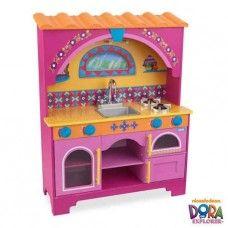 Kitchen Playset: Dora the Explorer Kitchen