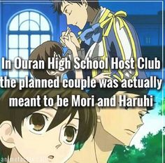 But Haruhi and Hikaru would be a better couple i like tamaki too he's been through a lot and is alone but hikaru still has his twin to be on his side