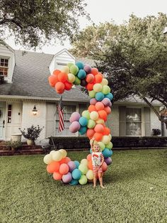 - Casey Wiegand of The Wiegands - - Birthday Balloons! – Casey Wiegand of The Wiegands Party time Birthday Balloons! – Casey Wiegand of The Wiegands Third Birthday, 3rd Birthday Parties, Birthday Kids, Children Birthday Party Ideas, Girl Parties, Birthday Crafts, Missouri, Deco Kids, Birthday Numbers