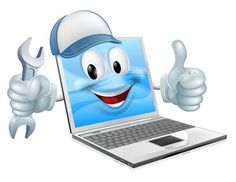 Illustration about A cartoon laptop computer repair mascot with a cap and spanner doing a thumbs up. Illustration of cartoon, assistance, settings - 42974646 Marketing Technology, Computer Technology, Technology Logo, Computer Vector, Birthday Wishes Messages, Disney Princess Drawings, Computer Repair, A Cartoon, Laptop Computers