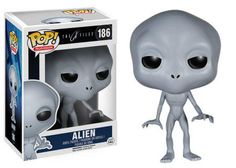 Figurine Pop Alien X-Files - N°186 @ReferenceGming