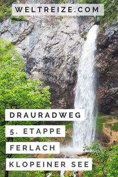 Klopeiner See, Austria, Waterfall, Juni, Outdoor, September, Hotels, Travel, Nature