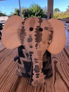 Elephant Fabric Door Stops - From Lisa's Blocks Based in Port Elizabeth, South Africa