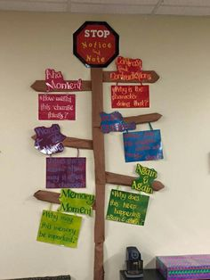 Notice & Note signpost display