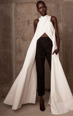 Mari Agory by Paul Gilmore for Rosie Assoulin Resort 2014