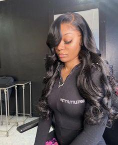 Sew In Hairstyles, Baddie Hairstyles, Black Girls Hairstyles, Braided Hairstyles, Wedding Hairstyles, Wig Styles, Curly Hair Styles, Natural Hair Styles, Ponytail Styles