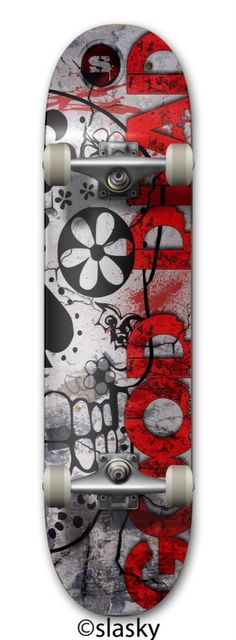 Good Dead for #Slasky Custom Skate Board €67.95 per #skateboard Made by #Zazzle Skateboards.   Deck Type 20.0cm This board is at home doing grinds on the half-pipe or kickflips in the street. Using the best quality hard-rock maple, we gave it a competition shape and supreme pop!  We finish the board with our patent-pending printing process, making it the best skateboard in the world. Complete Your Board No Extras Order yourself the complete board. We add Krux or Independent trucks (based on…