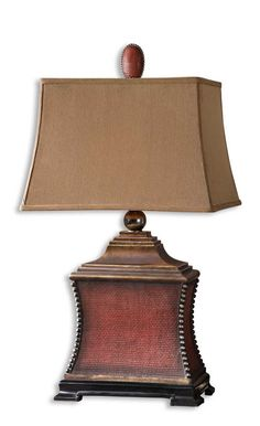 Uttermost Xander Distressed Bronze Table Lamp Settee Lamps