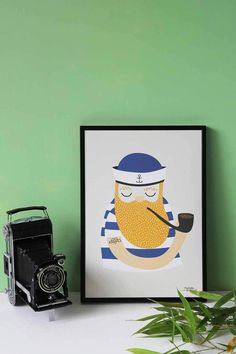 Little Sailor poster A4