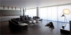 When Architecture meets Fashion - Design Magazine Home Interior Design, Interior Architecture, Pitsou Kedem, Minimalist Decor, Clean Design, Magazine Design, A Boutique, Decoration, Living Room Designs