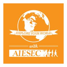An international youth leadership organization focused on connecting students to global opportunities. Go abroad this summer with AIESEC. Volunteer Abroad, Global Citizen, Interesting Quotes, Marketing Materials, Adventure Awaits, Graphic Illustration, Illustrations Posters, Leadership, Projects To Try